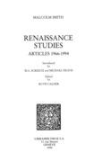 Renaissance Studies : articles 1966-1994