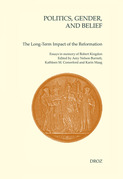Politics, Gender, and Belief. The Long-Term Impact of the Reformation