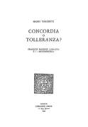 Concordia o tolleranza? François Bauduin (1520-1573) e i «Moyenneurs»