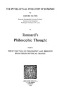 The Intellectual Evolution of Ronsard