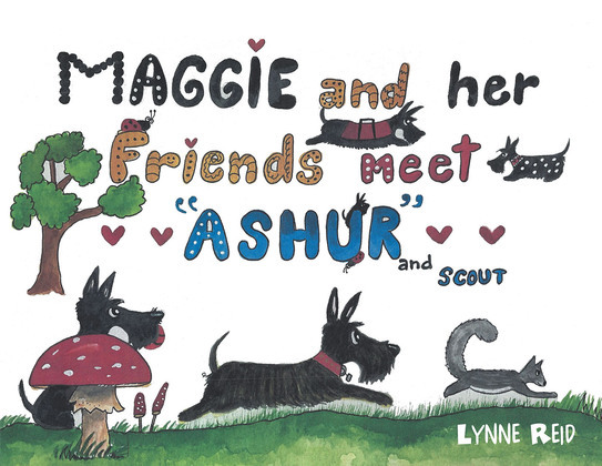 """Maggie and Her Friends Meet """"Ashur"""" and Scout"""