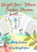 Weight Loss Fitness Tracker Planner Journal