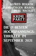 Die besten 7 Hochspannungs-Thriller im September 2021: Krimi Paket