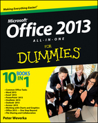 Office 2013 All-In-One for Dummies