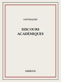 Discours académiques