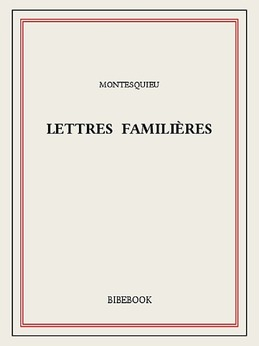 Lettres familières