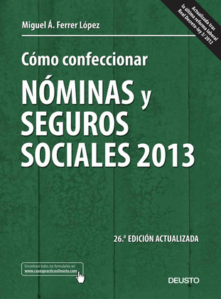 Cómo confeccionar nóminas y seguros sociales 2013