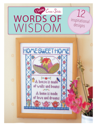I LOVE CROSS STITCH - WORDS OF WI