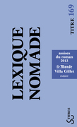 Lexique nomade 2013
