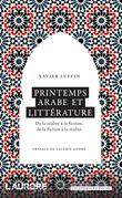 Printemps arabe et littérature.