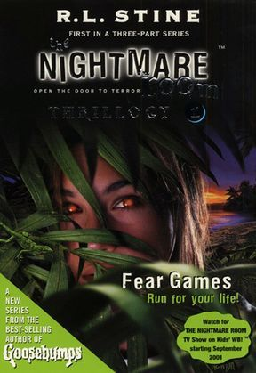 The Nightmare Room Thrillogy #1: Fear Games