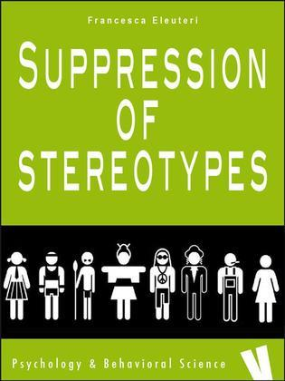 Suppression of stereotypes