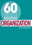 60 Second Solutions: Organisation