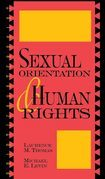 Sexual Orientation and Human Rights