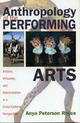 Anthropology of the Performing Arts