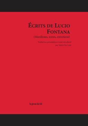 Écrits de Lucio Fontana