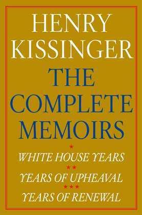 Henry Kissinger The Complete Memoirs E-book Boxed Set