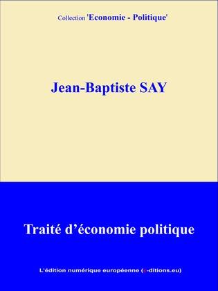 Traité d'économie politique