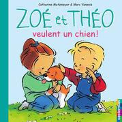 Zoé et Théo veulent un chien