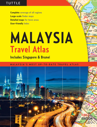 Malaysia Travel Atlas: includes Singapore & Brunei