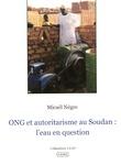 ONG et autoritarisme au Soudan: l'eau en question