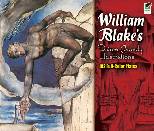 William Blake's Divine Comedy Illustrations: 102 Full-Color Plates