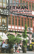 German: How to Speak and Write It
