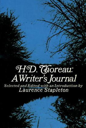 H. D. Thoreau, a Writer's Journal