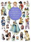 Old-Time Children Vignettes in Full Color