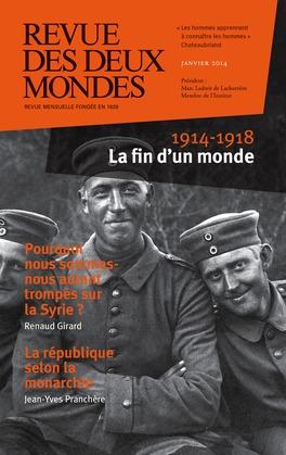 Revue des Deux Mondes janvier 2014