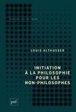 Initiation à la philosophie pour les non-philosophes
