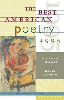The Best American Poetry 1995