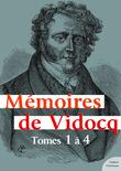 Mémoires de Vidocq, tomes 1 à 4