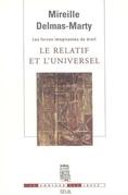 Le Relatif et l'Universel