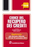 Codice del recupero dei crediti