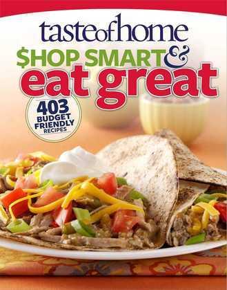 Taste of Home Shop Smart & Eat Great