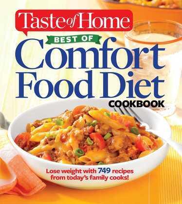 Taste of Home Best of Comfort Food Diet Cookbook