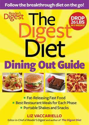 Digest Diet Dining Out Guide
