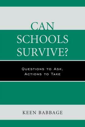 Can Schools Survive?