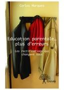 Education parentale... plus d'erreurs