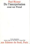 De l'interprétation. Essai sur Freud