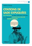 Citations de Sade expliquées