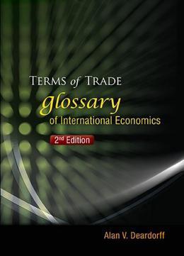Terms of Trade: Glossary of International Economics
