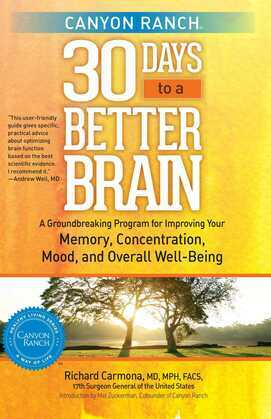 Canyon Ranch 30 Days to a Better Brain