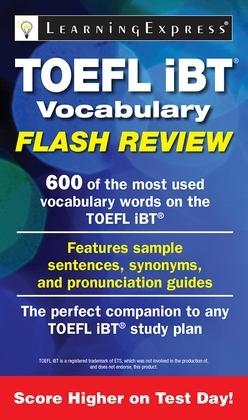 TOEFL iBT® Vocabulary Flash Review