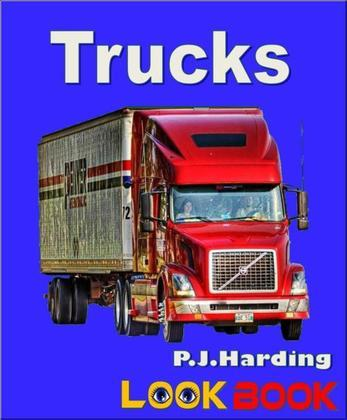 Trucks: A LOOK BOOK Easy Reader