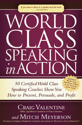 World Class Speaking in Action