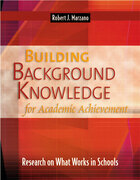Building Background Knowledge for Academic Achievement: Research on What Works in Schools