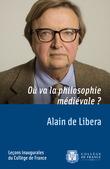 Où va la philosophie médiévale?