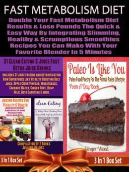 Fast Metabolism Diet: Double Your Fast Metabolism Diet Results: Maximize Fast Metabolism Diet Weight Loss Results & Lose Pounds - Healthy Smoothies Re